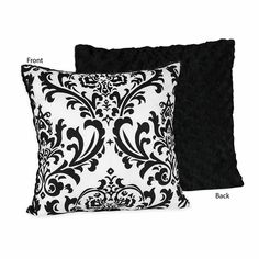 Black and White Isabella Decorative Accent Throw Pillow $22.99