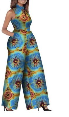 Kats closet has the latest trending fashionable accessories and clothes for women. African Fashion Ankara, African Print Fashion, African Design, Jumpsuits For Women, Trouser, Florence, Trendy Outfits, Elsa, Wide Leg