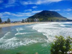 Mount Maunganui :) Beautiful Places In The World, Most Beautiful, Mount Maunganui, Beach, Water, Travel, Outdoor, Water Water, Outdoors