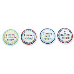 Boy Month Milestone Stickers - Time Your Gift - 2