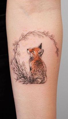 Deborah Genchi Creates Incredibly Versatile Tattoos - KickAss Things Regardless of what tattoo style you're looking for, Deborah Genchi will have you covered. You'll fall in love with her incredibly versatile tattoos. Body Art Tattoos, Fox Tattoo, Tattoos, Creative Tattoos, Tattoo Style, Tattoos For Women, Cute Tattoos, Trendy Tattoos, Beautiful Tattoos