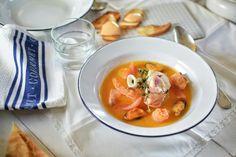 Tomaten  Bouillabaisse