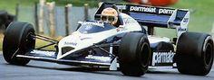 Corrado Fabi. - 1984 - MRD International - Brabham BT53
