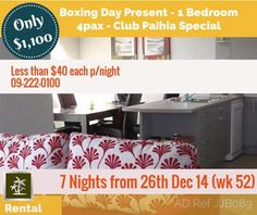 Photo of rental promotion Boxing Day, Promotion