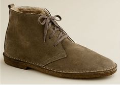 J.Crew Shearling-Lined Boots.