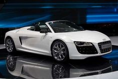 Because nothing would give me greater pleasure than having this. :D Ana Steele ang peg. Audi Spyder R8
