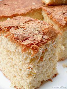 Con sabor a canela: Bizcochada gallega