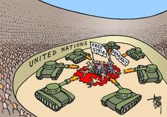 The role the UN Security Council is playing in Syria today