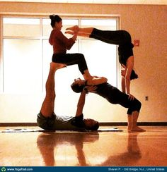 378 best partner/couples yoga poses images  partner yoga