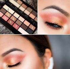 Naila @Owlailaaa has done a Chocolate Vice look using the Peaches and Golds! MUR Newtrals vs Neutrals