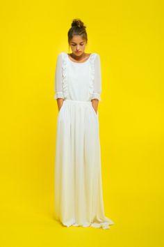 Wedding dresses trends 2016 #wedding #dress #trends #weddingtrends #bride #boho