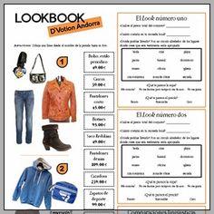 Lookbook: D'Votion (Andorra), la ropa y los numeros