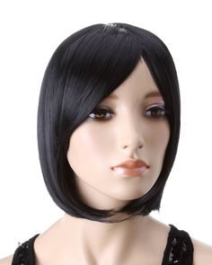 Amazon.in: Buy Cool2day BOBO Stylish Fashion Mix Short Stright Women's Wig/Wigs jf010332 (Black) Online at Best Price in India | Amazon Beau...