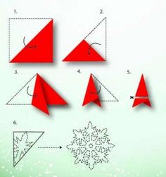 Fabriquer une étoile de Noël en papier