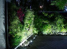 Jardín vertical realizado por un alumno de Paisajismo Urbano