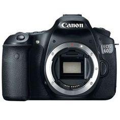 Canon EOS 60D Digital SLR Camera Body, 18 Megapixels, 5200x3462 Pixels, 3:2 Aspect Ratio, Black - MFR: 4460B003 - $799.00