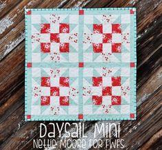 Daysail Mini Quilt Tutorial