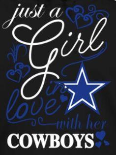 Download This Girl Loves Dallas Cowboys SVG File | Dallas Cowboys