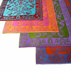 Plastic Outdoor Rugs for the front porch.