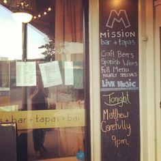 Mission Bar + Tapas #Berkshires