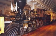 """""""The President"""" steam locomotive Train Museum, Henry Ford Museum, Old Steam Train, Mechanical Art, Artist And Craftsman, Old Trains, Steam Locomotive, Train Travel, Historical Photos"""