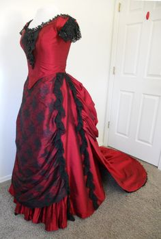 Now ON SALE 40 off this Victorian Bustled Ball di SallyCDesigns