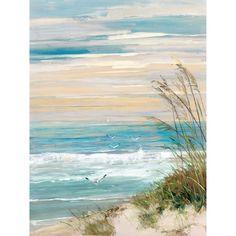 Portfolio Canvas Decor Beach at Dusk Canvas Wall Art
