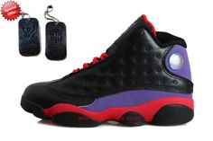 Black/Purple/Red TRANSFORMERS AIR JORDAN 13 RETRO For Cyber Monday Y9J06D