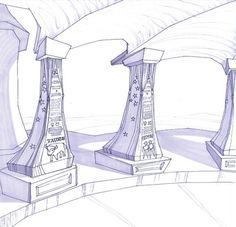 Astro Landia Concept Drawings 2003