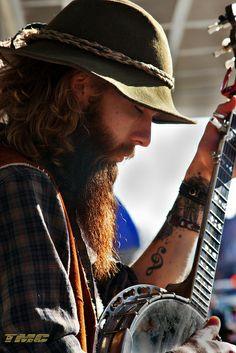 banjo + beard