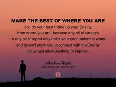 #abrahamhicks #allowing #best