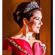 Crown Princess Mary of Denmark. Jan. 1, 2018