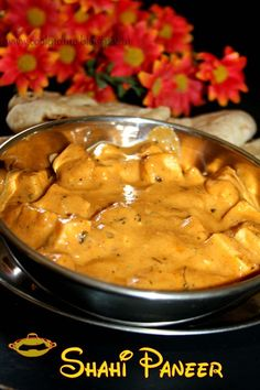 Shahi paneer--An exotic dish to have with Roti