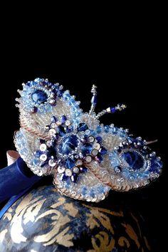 READY to ship Hair Barette Butterfly Vivienne by RezcovaAgija, €170.00