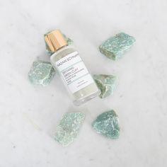 Detoxing Green Clay Chlorella Aquamarine & Musk Rose Mask - Shop All Musk Rose, Green Clay, Mask Shop, Clay Masks, Collagen, Detox, Skincare, Stud Earrings, Luxury