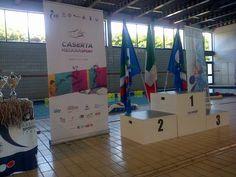 Podio Campionati nazionali Asi Nuoto