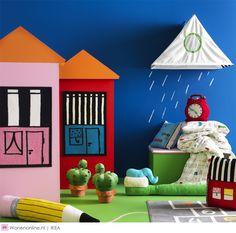 Nieuw voor de kinderkamer bij IKEA #kidsroom | De fantasie van kinderen kent geen grenzen. IKEA stimuleert hun verbeelding met nieuwe producten voor eindeloos veel speelplezier. Van een eigen droomhuis tot speelse opbergers die niet alleen ruimte maken om te spelen, maar ook graag een gezellig potje meespelen. De nieuwe producten zijn vanaf oktober verkrijgbaar bij IKEA.