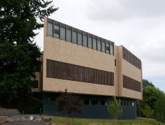 Mount Angel Abbey Library St Benedict (Mount Angel) Oregon, USA/ Alvar Aalto 1970