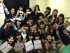Sakura Gakuin. Ayami Muto, Ayaka Miyoshi, Airi Matsui, Babymetal, Yui Mizuno, Moa Kikuchi, Suzuka Nakamoto, Mori sensei
