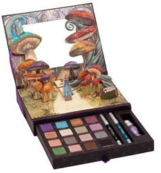 Urban Decay Alice in Wonderland Book of Shadows. I looove these.