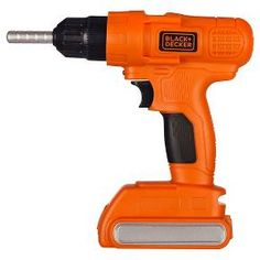 The Black & Decker Power Play Tools all have realistic sounds and features for an awesome play construction experience. Modeled after the real thing, when you squeeze the trigger on the Power Drill there is a small light that activates and the drill bit really spins while making authentic sounds. The Power Drill includes batteries as well, so kids can start playing with it right away – no batteries required. The other Power Play Tools all come with great, realistic features as ...