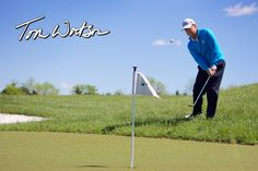 Long time #Golf Pro Tom Watson signs deal with #SYNLawn Golf to promote its practice greens.