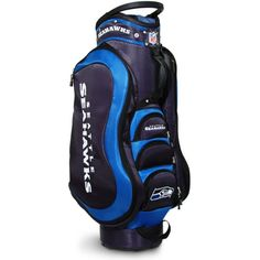 88b43d2430c Team Golf Seattle Medalist Cart Bag Nfl Seattle