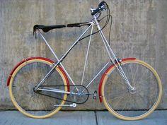 1978 Cheltenham Pedersen bicycle on display at Classic Cycle | Classic Cycle Bainbridge Island Kitsap County