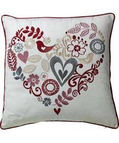 Heart of House Juliette Cushion - Cranberry.