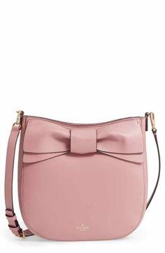 7dbc3fea1031 kate spade new york olive drive - robin leather crossbody bag Pink  Crossbody Bag