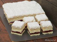 Kliknij i przeczytaj ten artykuł! Unique Desserts, Vegan Desserts, Baking Recipes, Cake Recipes, Delicious Deserts, Sweet Pastries, Sweets Cake, Vegan Kitchen, Polish Recipes