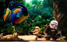 """Um ano antes de """"Toy Story 3"""" o vencedor do Oscar de melhor animação (e também indicado ao prêmio de melhor filme) foi """"Up - Altas Aventuras"""". O enredo conta a relação de Carl, um velhinho viúvo, com Russell, um escoteiro amante da natureza. O filme já emociona ns primeiros minutos, quando repassa a história de amor vivida entre Carl e Ellie, a esposa falecida."""