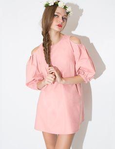 Blush Babydoll Dress - Pink Day Dress - fashion  pixiemarket  pixiemarket dcd7dbec4