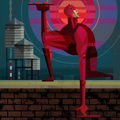 Daredevil by Robert Ball.